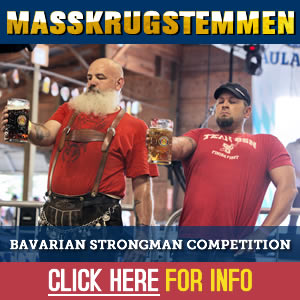 Masskrugstemmen Bavarian Strongman Competition