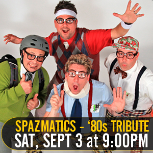 Spazmatics - 80's Tribute Band