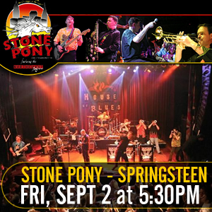 Stone Pony Bruce Springsteen Tribute Band
