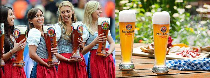 Paulaner Beer Menu Cleveland Oktoberfestcleveland