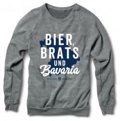 """""""Bier, Brats & Bavaria"""" Crewneck"""