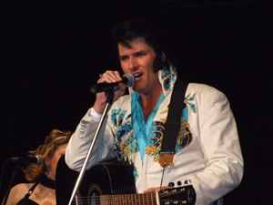 Walt Sanders Elvis Tribute