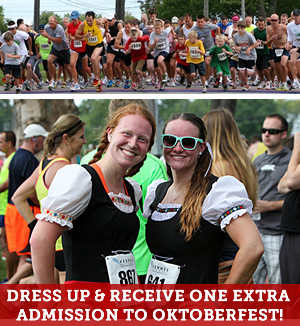 The Oktoberfest Rainbow 5K Run