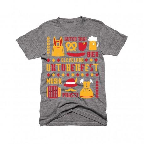 Unisex Oktoberfest Collage T-Shirt
