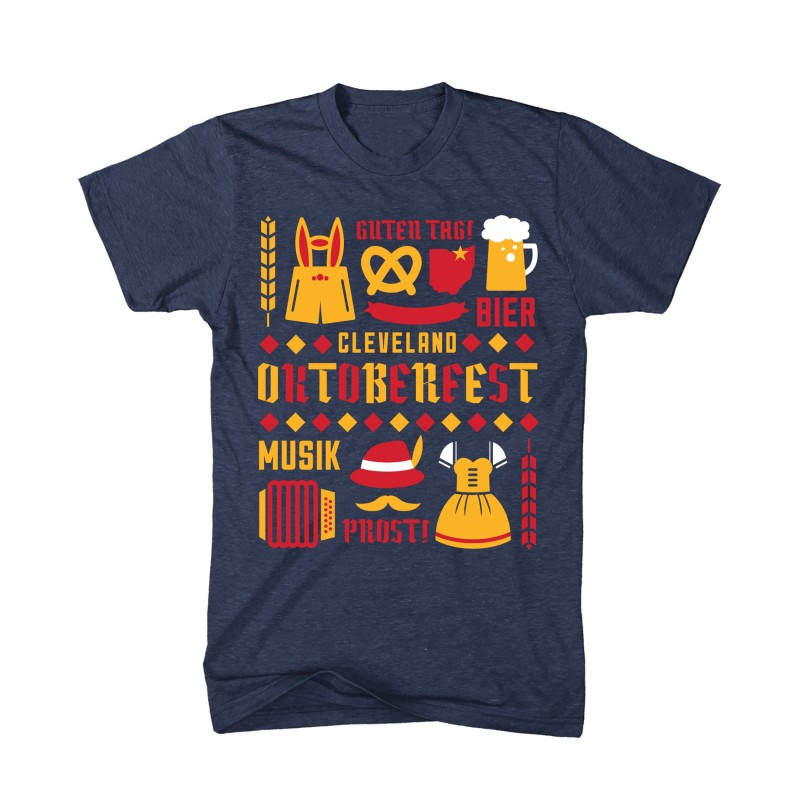 Unisex Oktoberfest Collage T-Shirt