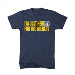 """I'm Just Here for the Wieners"" T-Shirt"