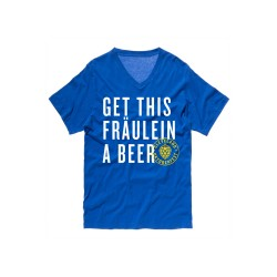 """Get This Fraulein A Beer"" T-Shirt"