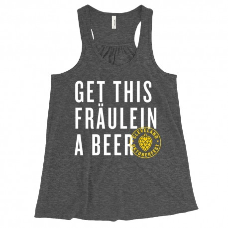 """Get This Fraulein A Beer"" Tank Top"