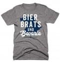"""Bier, Brats & Bavaria"" T-Shirt"