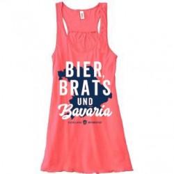 """Bier, Brats & Bavaria"" Tank Top"