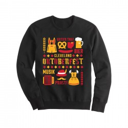 Oktoberfest Collage Crewneck