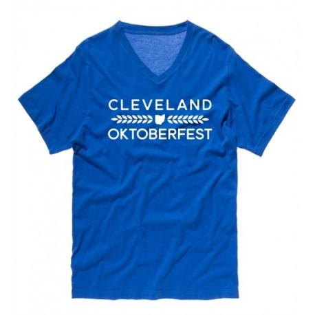 """""""Ohio Hop and Malt"""" V-Neck T-Shirt"""