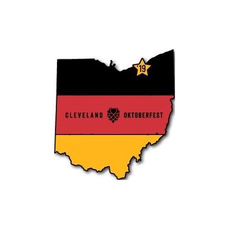 '19 Cleveland Oktoberfest Lapel Pin