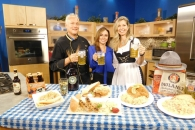 WJW's New Day Cleveland with Natalie with Chef Roberto & Candyce