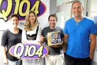 """Q104 FM's """"The Jeff Show"""""""