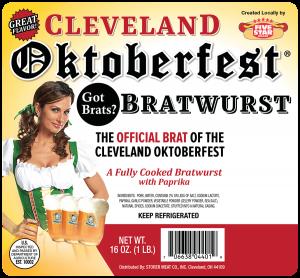 Cleveland Oktoberfest Bratwurst